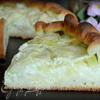 Сдобный сырный пирог с кабачком