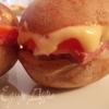 Закусочный горячий бутерброд из картофеля