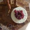Медово-сливочный торт с чернично-персиковым желе
