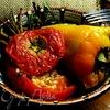 Фаршированные томаты и перцы Yemista