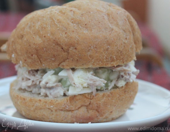 """Сэндвичи с тунцом (""""Школьная ссобойка"""")"""
