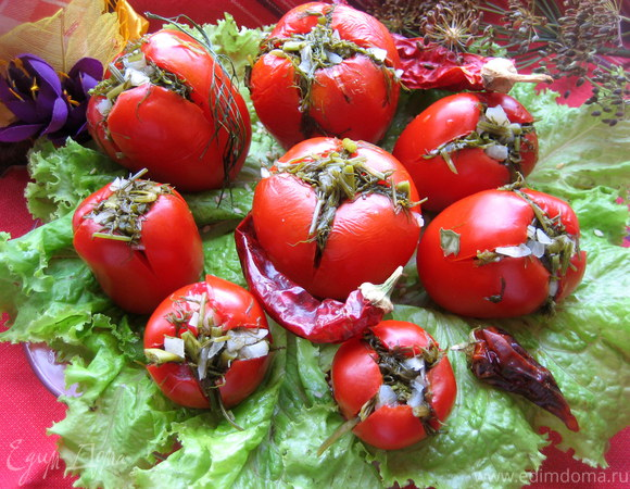 """Малосольные помидоры """"суточные"""""""