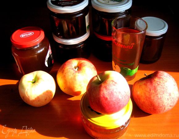 Яблочный сироп на зиму
