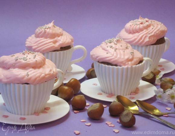 Шоколадно-ореховые маффины
