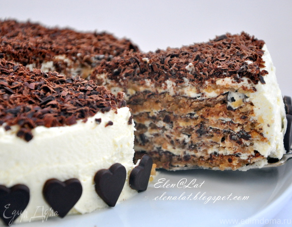 как приготовить торт с орехами