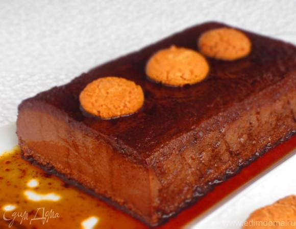 Итальянский десерт Бонет (Bonèt)