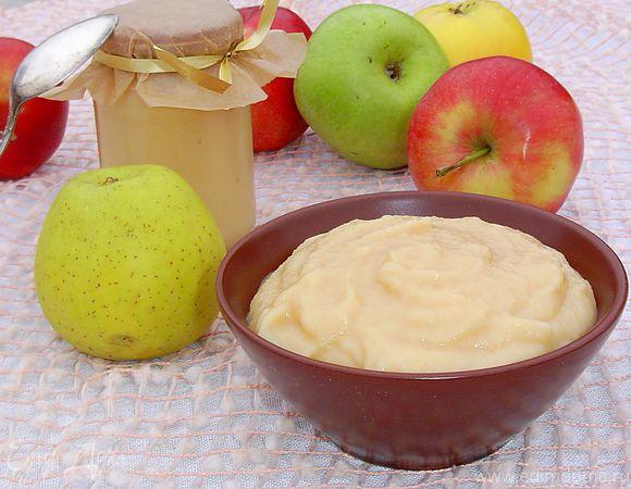 яблочное повидло со сгущёнкой рецепт