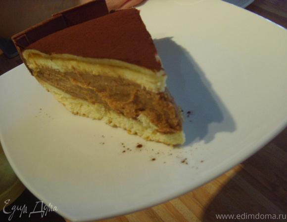 Торт с кофейно-масляным кремом