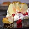 Яблочно-маковый чизкейк
