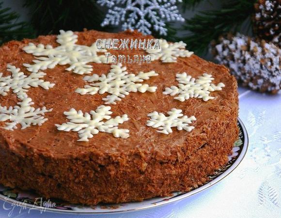 как приготовить новогоднюю торт шоколадные