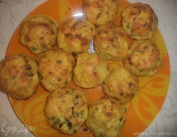 Пряные картофельные пышки