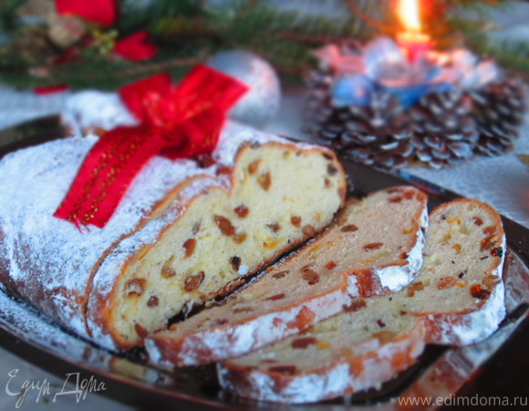 Рождественский штоллен