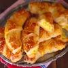 Рогалики с картофелем и моцареллой