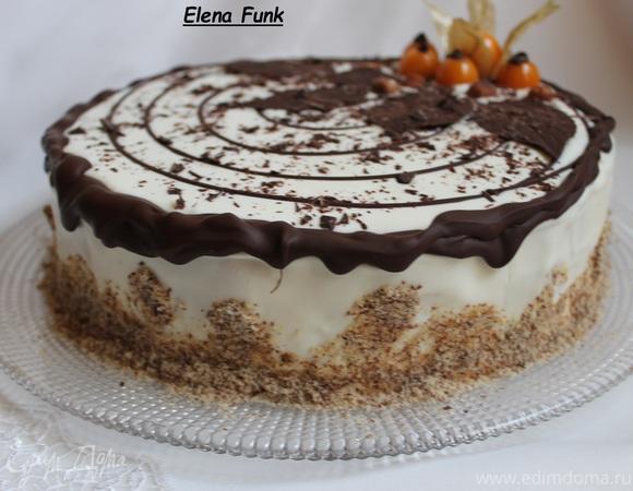 Как испечь торт трухлявый пень