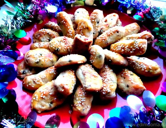 Пирожки на сырном тесте