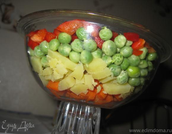 """Овощной салат """"Здоровый"""""""