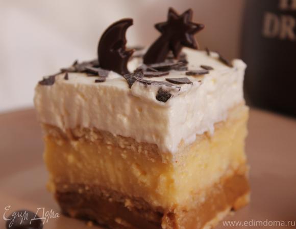 Пирожное без выпечки