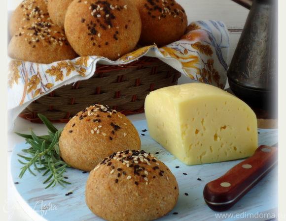 Булочки пшенично–ржаные