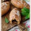 Глазированные пироги со щавелем