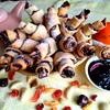 Печенье из творожного теста Ругелах
