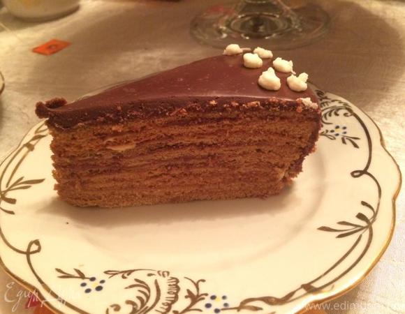 """Торт """"Медовик кофейный"""""""