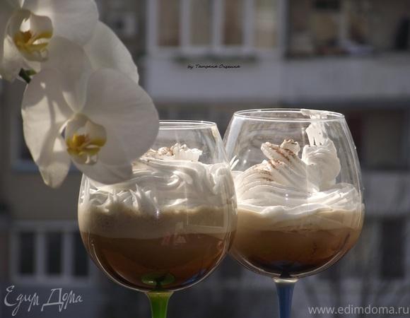 Кофе латте со льдом