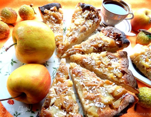 Яблочно-грушевый тарт Татен (tarte Tatin)