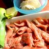 Французские блинчики (crepes) с красной рыбкой