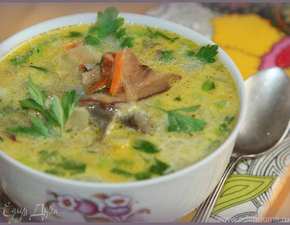рецепт супа грибного из сухих грибов