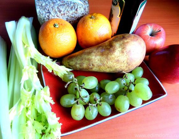 Пикантный фруктово-ягодный салат (для Сабины)
