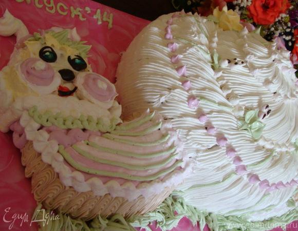 """Детский торт """"Улыбка"""""""