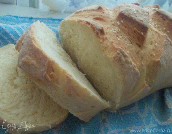 Хлеб на простокваше с медом