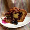 Ягодный пирог на сметане