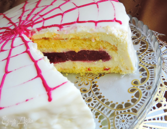 """Торт """"Рубиновая жемчужина"""""""