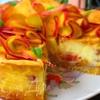Итальянский пирог с персиками