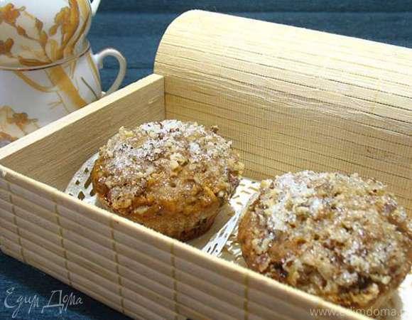 Овсяные кексы с грушей