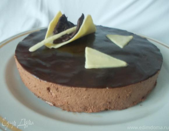 """Торт-суфле """"Шоколадные облака"""""""