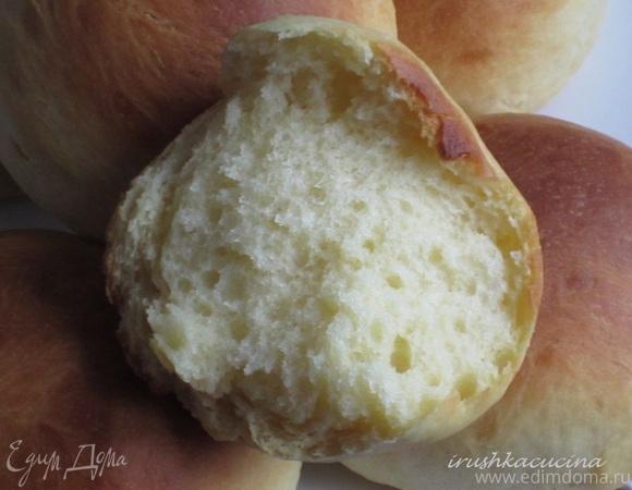 Мини-бриоши с творожно-черничным кремом