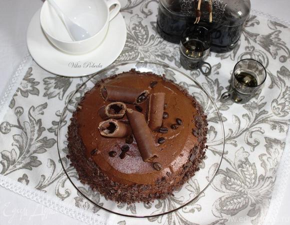 Торт «Кофейный трюфель»