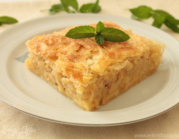 Боснийский яблочный пирог