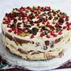Итальянский рождественский торт (без выпечки)