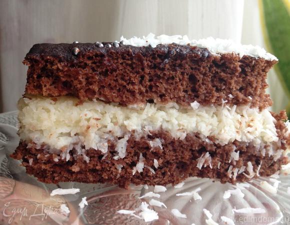 торт баунти рецепты с фото