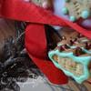 Новогоднее марципановое печенье с маком