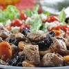 Куриное филе с сухофруктами и розмарином