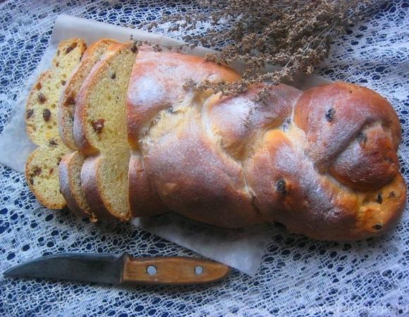 Финская плетенка с кардамоном (пулла)