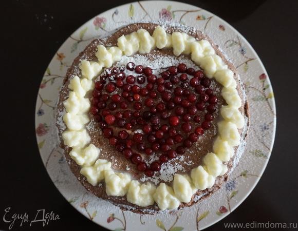 Торт с шоколадно-апельсиновым муссом