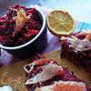 Свекольно-рыбный перекус