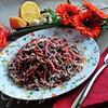 Свекольно-шпинатная пикантная паста