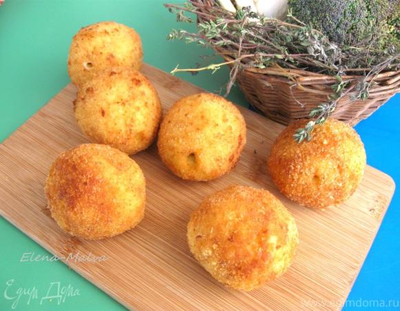 Сицилийские аранчини – рисовые шарики