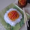 Овощи с фунчозой в азиатском стиле